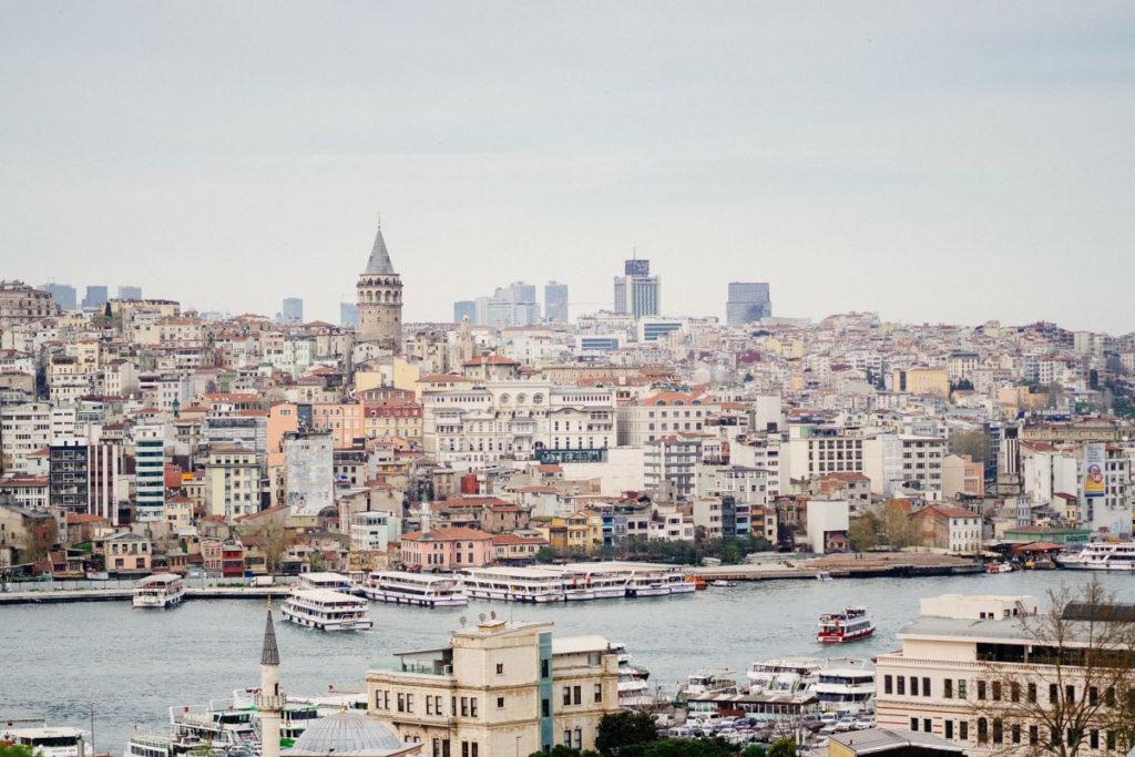 Rejser til Istanbul