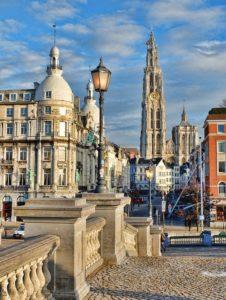 Rejser til Antwerpen