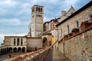 Rejser til Assisi