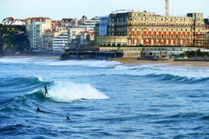 Rejser til Biarritz
