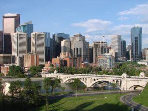 Rejser til Calgary