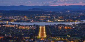 Rejser til Canberra