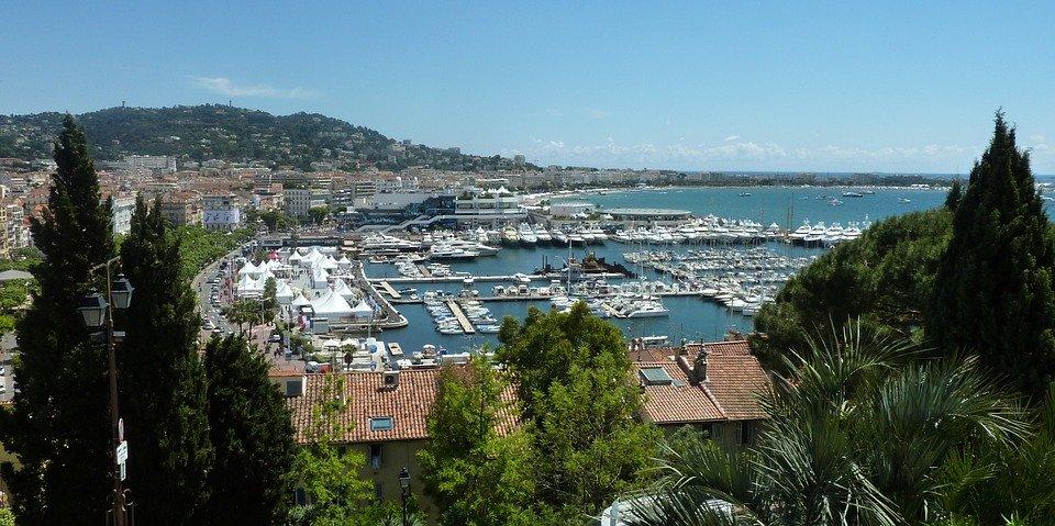 Rejser til Cannes