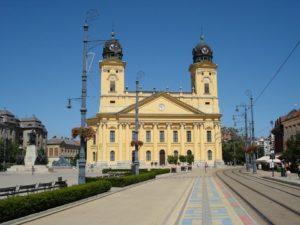 Rejser til Debrecen