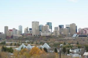 Rejser til Edmonton
