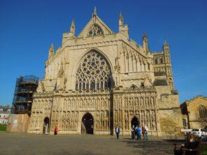 Rejser til Exeter