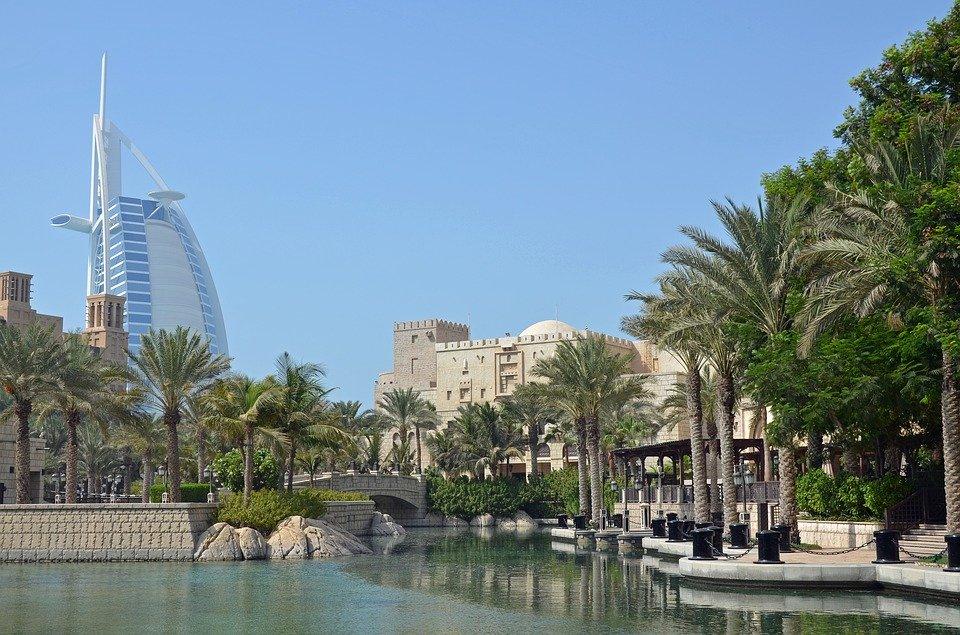 Rejser til Forenede Arabiske Emirater