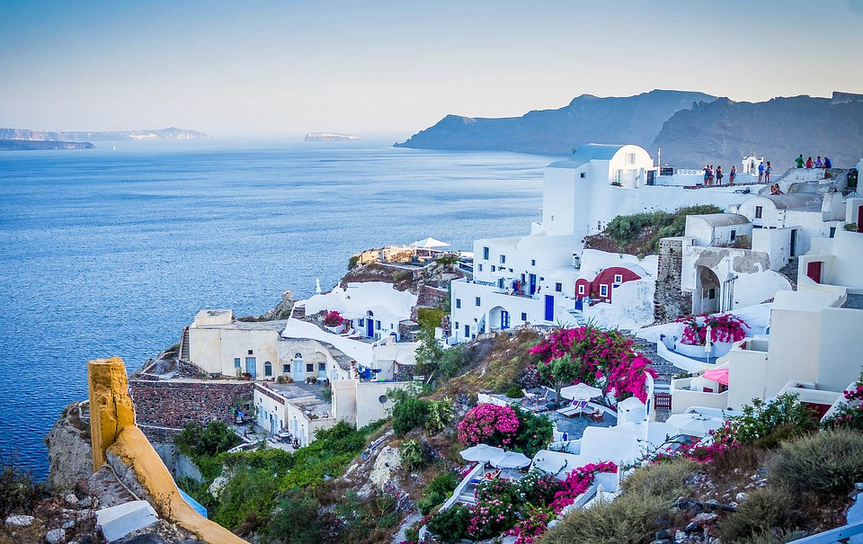 Rejser til Santorini