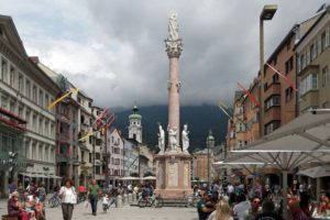 Rejser til Innsbruck