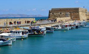 Rejser til Iraklio (Heraklion)