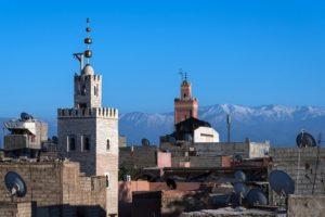 Rejser til Marrakech