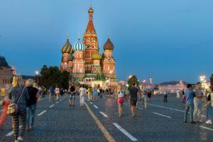 Rejser til Moskva
