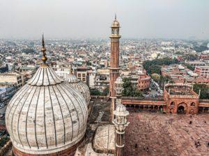 Rejser til New Delhi