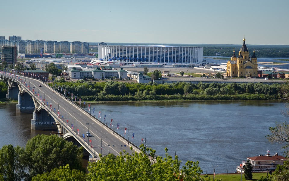 Rejser til Nizhniy Novgorod