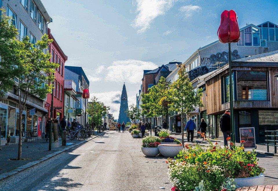 Rejser til Reykjavik