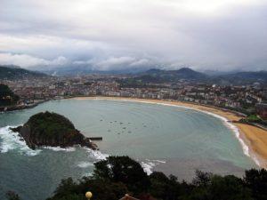 Rejser til San Sebastian