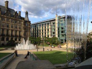 Rejser til Sheffield