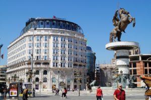 Rejser til Skopje