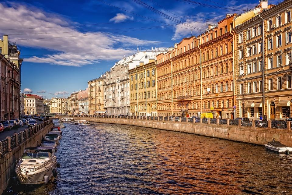 Rejser til St. Petersburg
