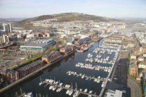 Rejser til Swansea