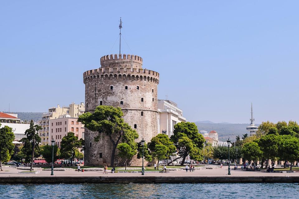 Rejser til Thessaloniki