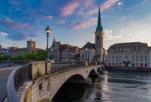 Rejser til Zurich