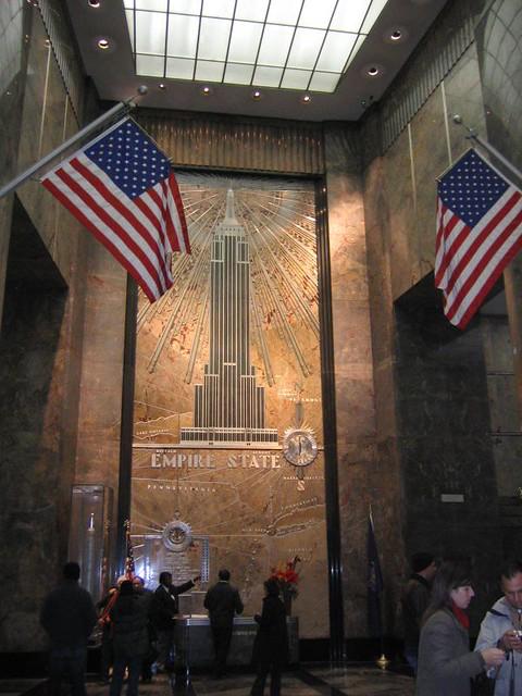art deco i Empire State Building