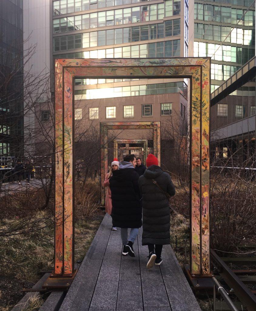 gåturen på High Line