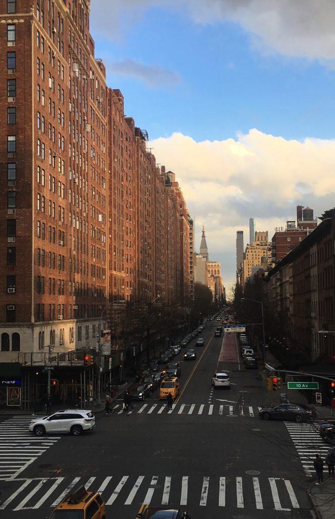 Et gadebillede af NewYork taget fra High Line