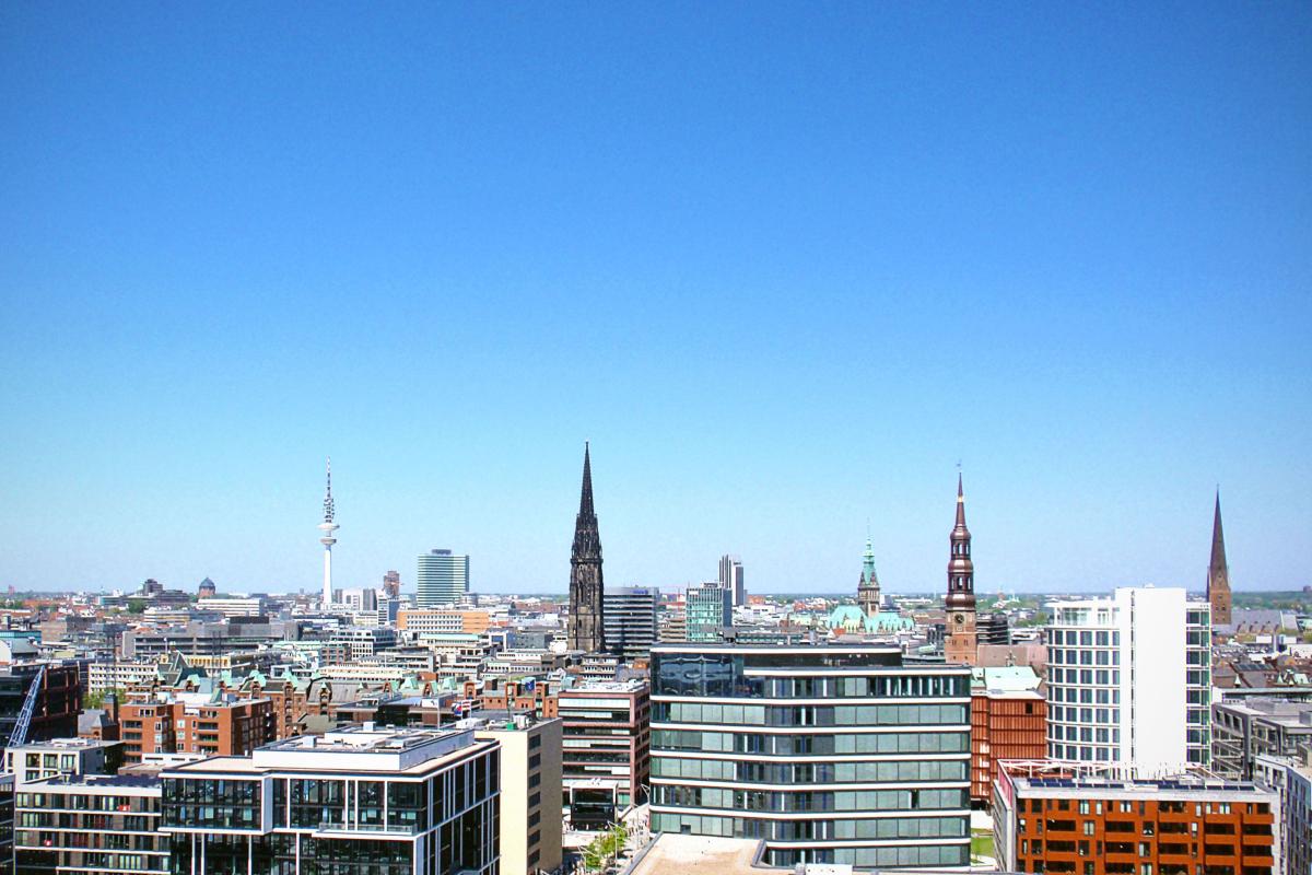 hamborg skyline