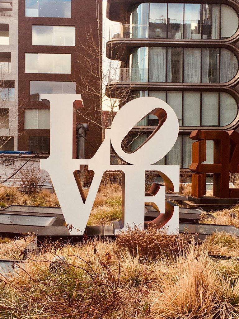 Kunst på High Line - Du har vist set det Love før