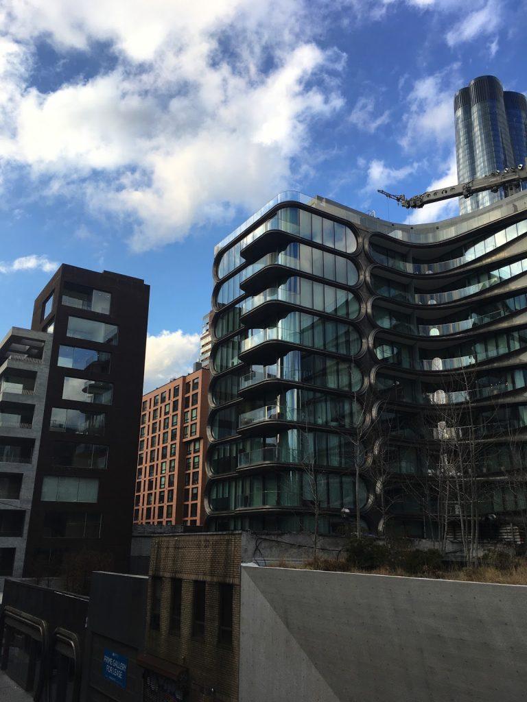 Nybyggede Lejligheder Langs High Line