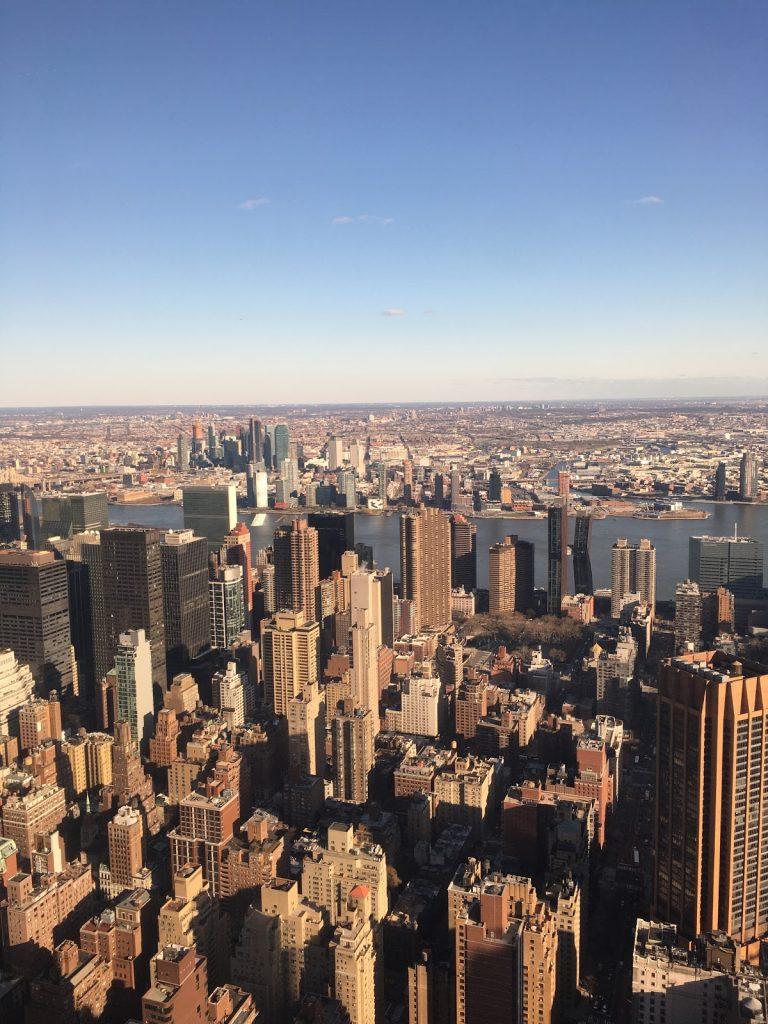 udsigten fra Empire State Building