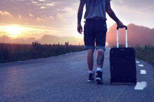 valg af kuffert